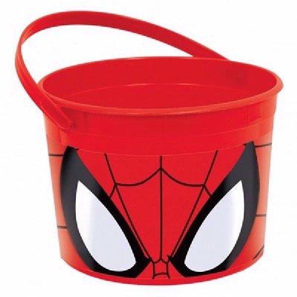 Spiderman Eimer Party Mitgebsel & Süßigkeiten Behälter-0