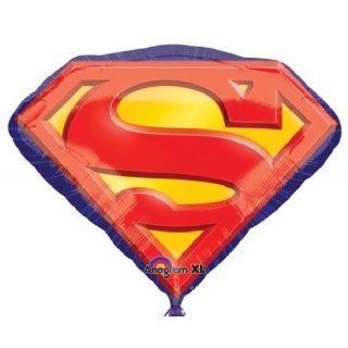 XL Superman Logo Supershape Folienballon 68 cm -0