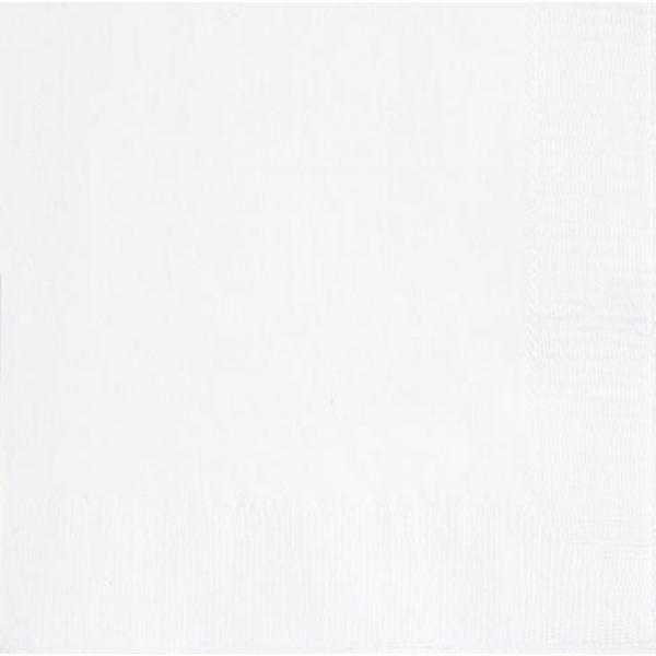 20 Servietten Weiss 33 cm-0