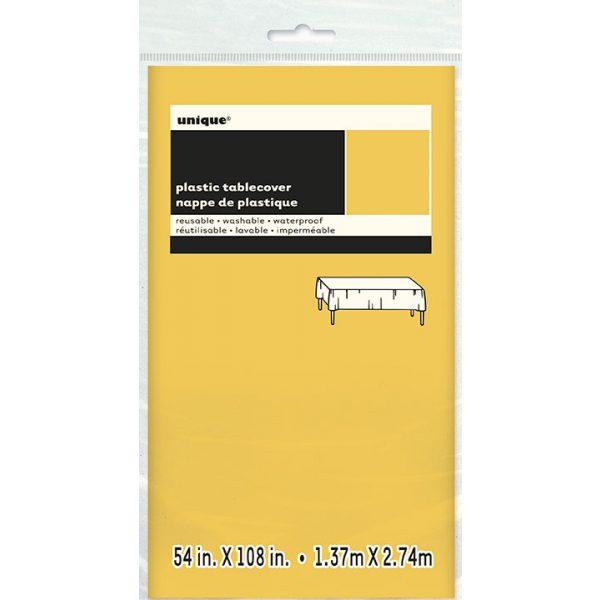 Gelbe Tischdecke -3907