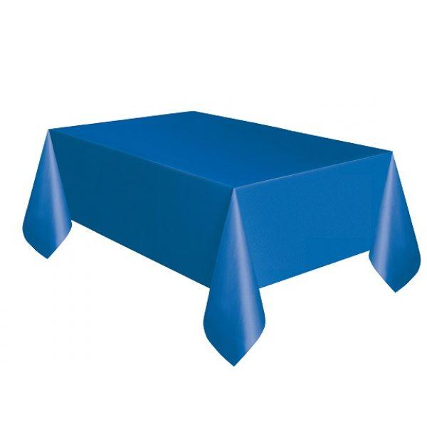 Blaue Tischdecke -0