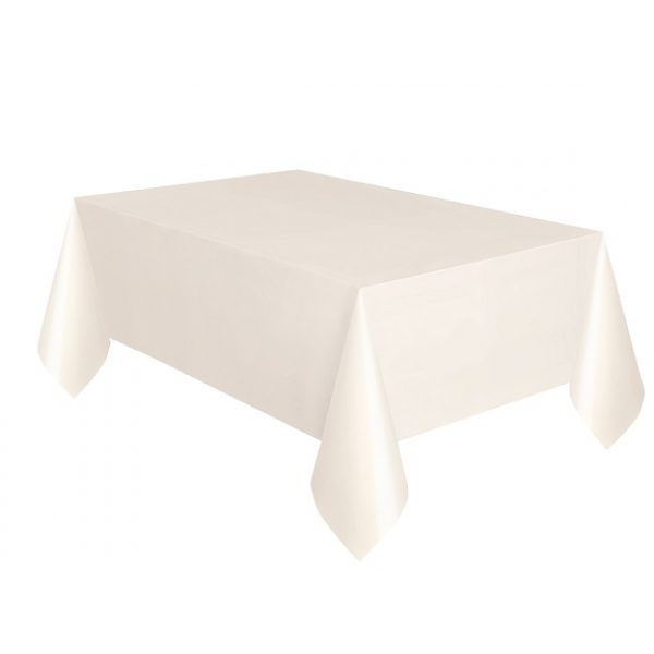 Elfenbein Tischdecke -0