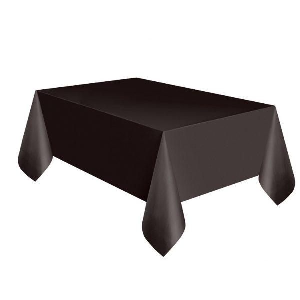 Schwarze Tischdecke -0