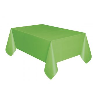 Grüne Tischdecke -0