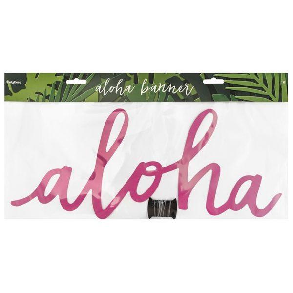 Aloha Schrift Banner-3800