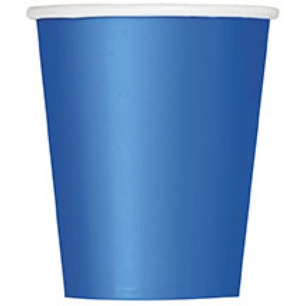 14 Pappbecher Blau-0