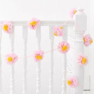 Pastel Blumen Girlande Decadent Decs-0
