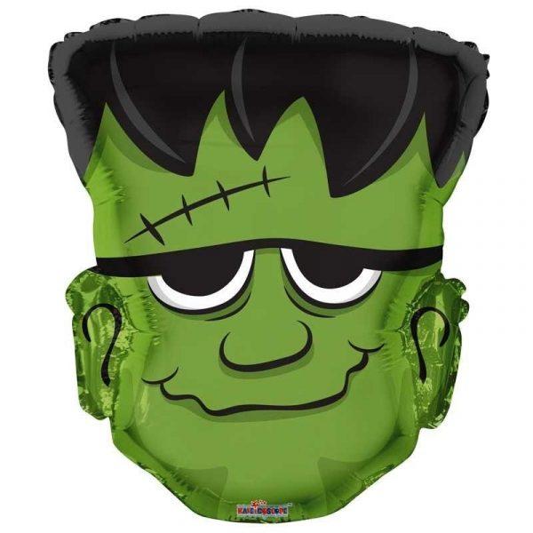 Frankenstein Halloween Folienballon 45 cm-0