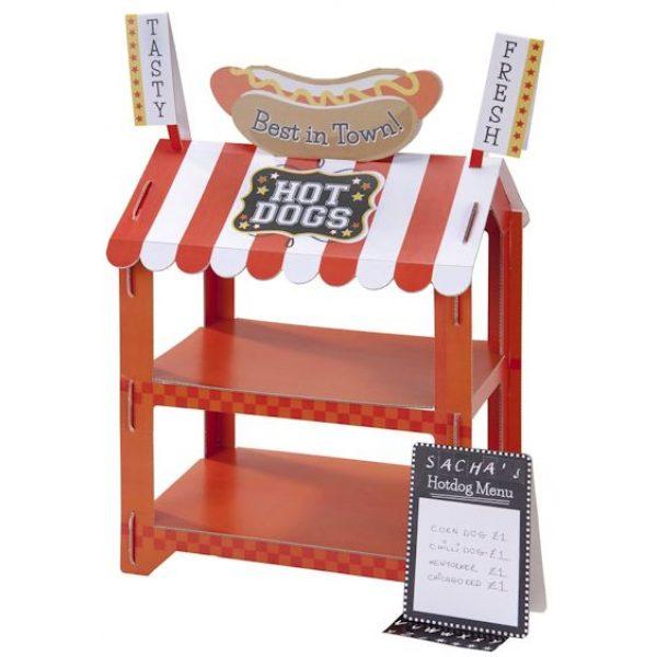 2 in 1 Popcorn / Würstelstand Reversible Treat Stand-4166