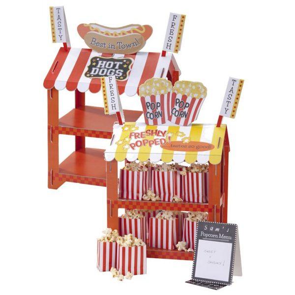 2 in 1 Popcorn / Würstelstand Reversible Treat Stand-0