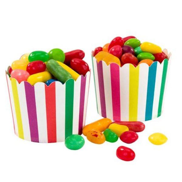 20 Regenbogen Treat & Muffin Cups -0