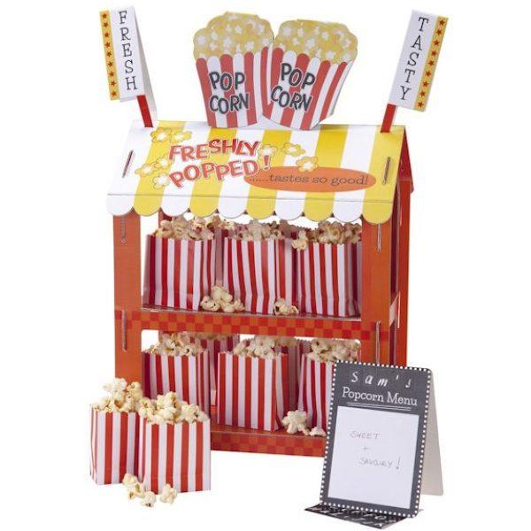 2 in 1 Popcorn / Würstelstand Reversible Treat Stand-4167
