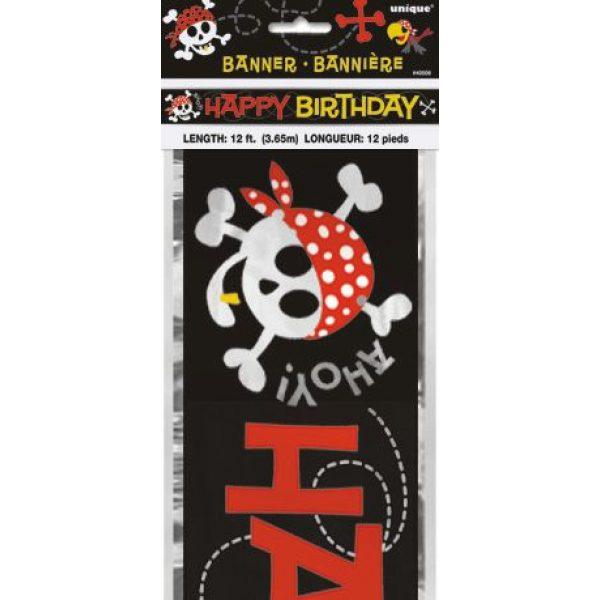 Happy Birthday Pirat Geburtstagsbanner -0