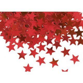 Rot Stern Konfetti-0