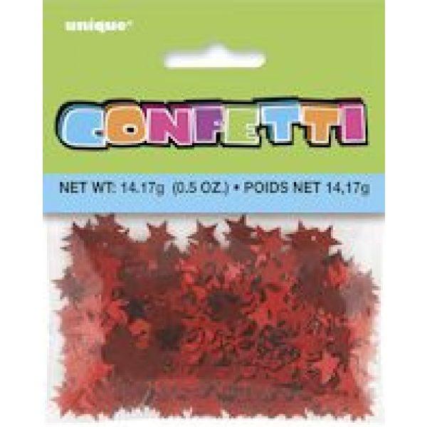 Rot Stern Konfetti-4302