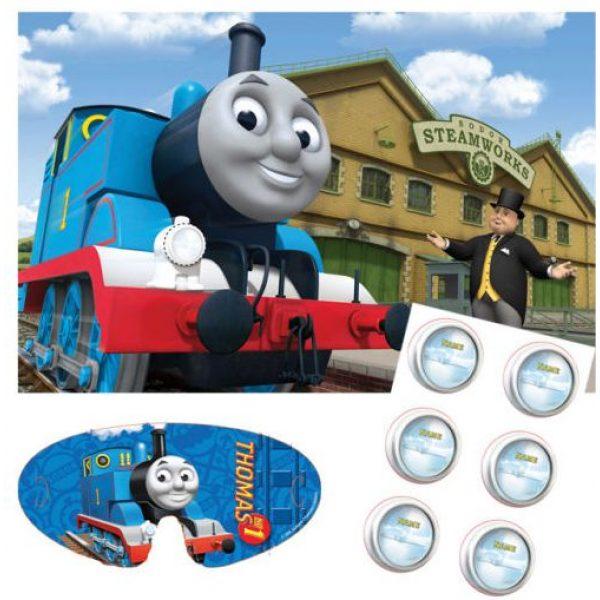 Thomas die kleine Lokomotive Partyspiel bis 12 Kinder-0