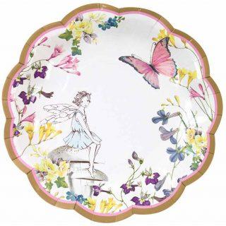 12 Truly Fairy Pappteller Klein -0