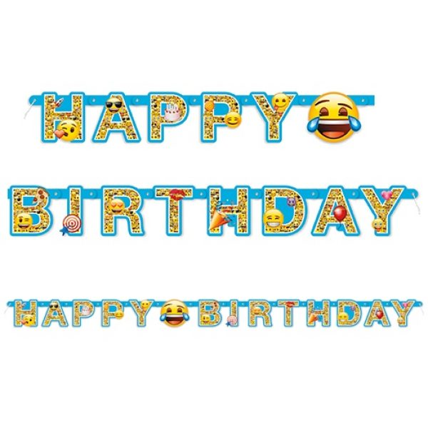 Emoji Happy Birthday Banner-4650