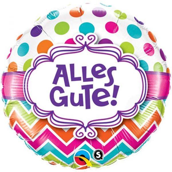 Alles Gute Folienballon 45 cm-0