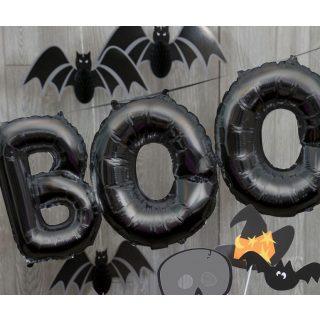 Boo Halloween Ballon-Girlande-0