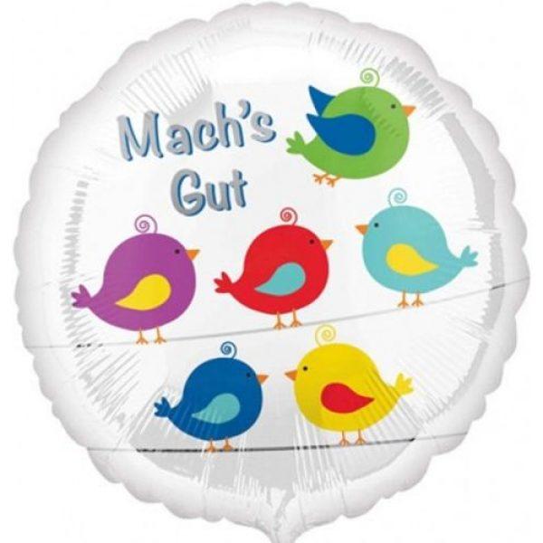 Mach's Gut Folienballon 43 cm-0