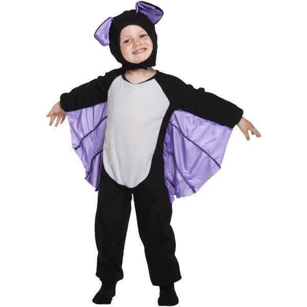 Lustige Halloween Fledermaus Kostüm für Kinder bis 3 Jahre -0
