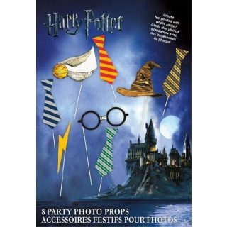 Harry Potter Hogwarts Photobooth Set 8 tlg.-0