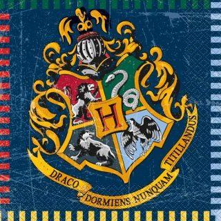 16 Hogwarts Servietten 33 cm-0