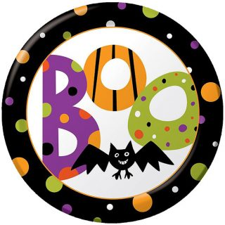 8 Halloween Boo Bash Pappteller 23 cm 100% Recycled-0