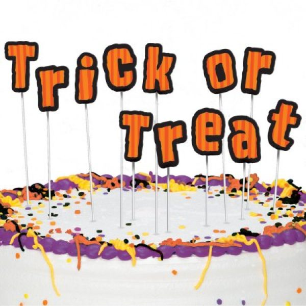 Trick or Treat Tortendeko Halloween Picker-0