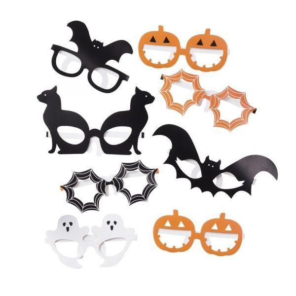 Halloween Photobooth Brillen Foto Requisite 8 tlg.-5038