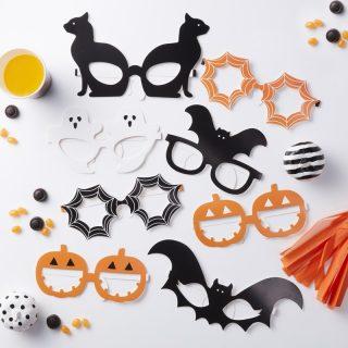Halloween Photobooth Brillen Foto Requisite 8 tlg.-0