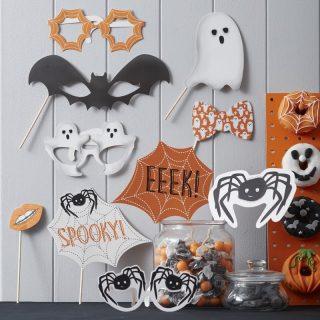Halloween Photobooth Foto Requisite 10 tlg.-0