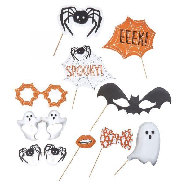 Halloween Photobooth Foto Requisite 10 tlg.-5032