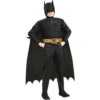 Batman Deluxe Muskel Kostüm für Kinder Gr L-0