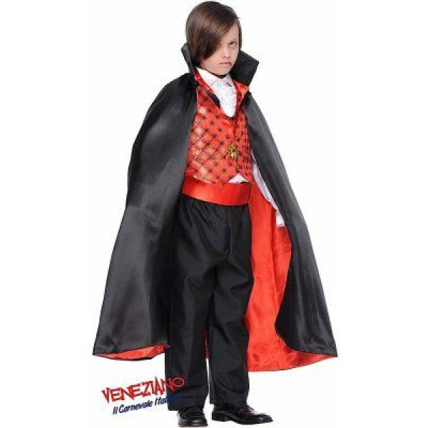 Dracula Kind Deluxe Kostüm aus Italien Gr XL 10 Jahre-0