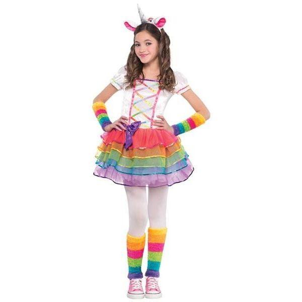 Rainbow Einhorn Kostüm 3-4 Jahre-0