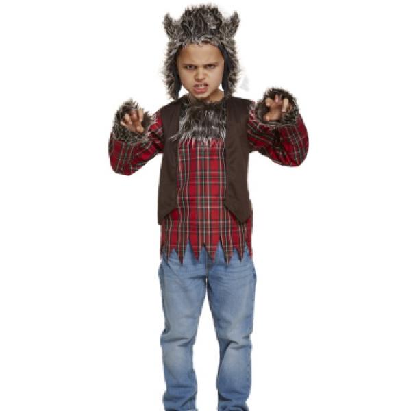 Werwolf Kostüm Kinder Gr L 10-12 Jahre-0
