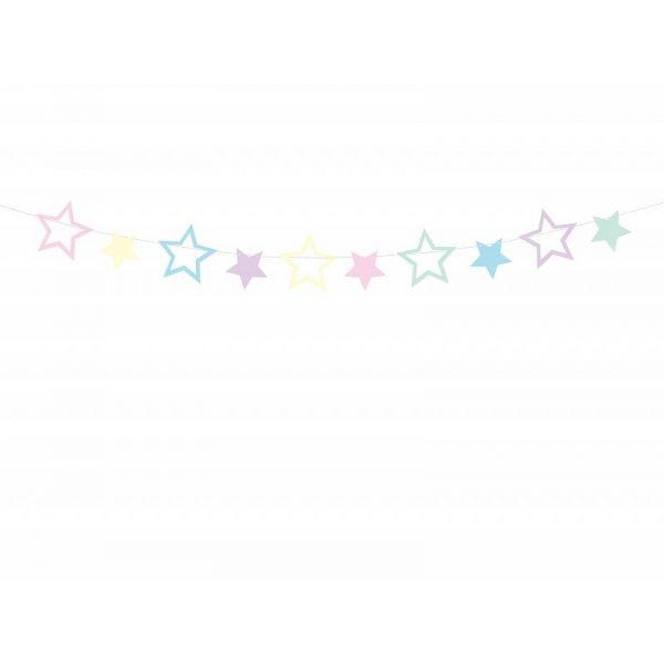 Pastel Sterne Girlande-0