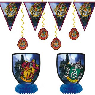 Harry Potter Hogwarts Dekorationen 7 Stk. -0