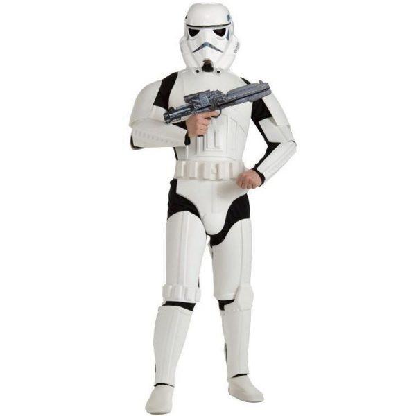 Deluxe Star Wars Storm Trooper Kostüm Erwachsene XL-0