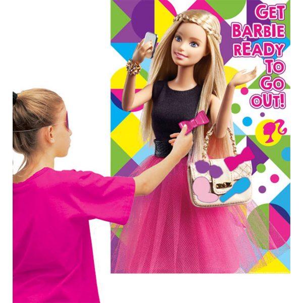 Barbie Sparkle Partyspiel bis 8 Kinder-5487