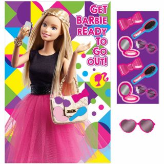 Barbie Sparkle Partyspiel bis 8 Kinder-0