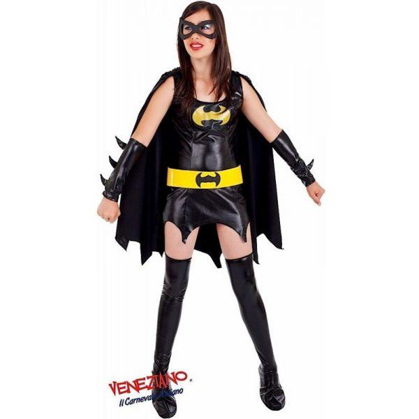 Deluxe Bat Lady Superheld mit Zubehör Damen Small-0