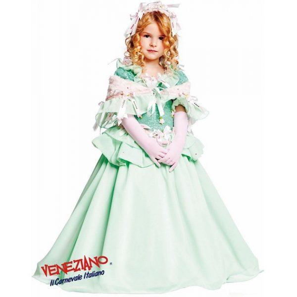 Prestige Prinzessin Party Kleid Rosa Kind 5 Jahre-5397