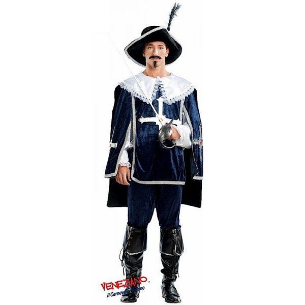 Deluxe Musketier D'Artagnan Inkl. Zubehör Herren Large -0