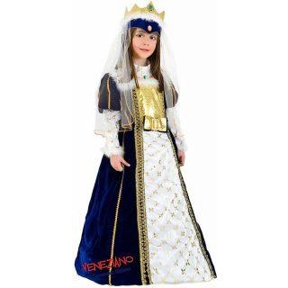 Deluxe Prinzessin Kostüm Kind 5 Jahre mit Zubehör-0