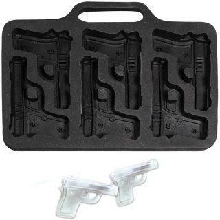 6 Pistole Silikon Eiswürfelform -0