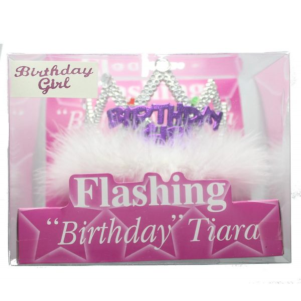 "LED Blinkende Geburtstagskrone ""Birthday Girl"" -0"