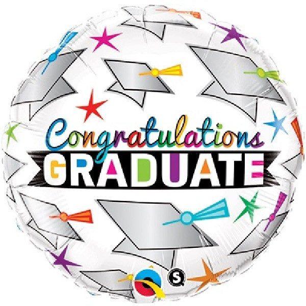 Congratulations Graduate Folienballon 45 cm-0